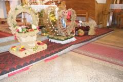 Dożynki parafialne w Krawcach