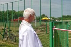 Otwarcie boiska w Żupawie