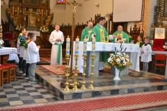 Poświęcenie Kaplicy Dolańskich po odnowienu