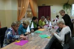 Warsztaty artystyczne w ramach LKS (choinki)