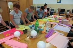 Warsztaty artystyczne w ramach zadania Lasowiackie Kluby Seniora (3)