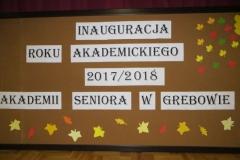 Inauguracja Roku Akademickiego 2017/18